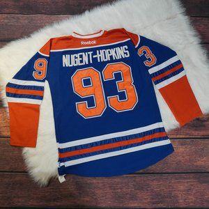 Ryan Nugent-Hopkins Reebok Edmonton Oilers Jersey